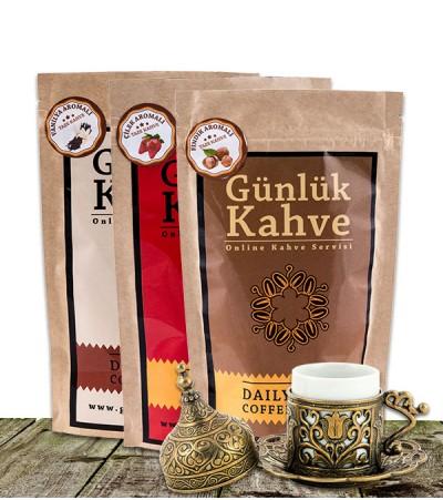 Türk Kahvesi 3'lü Paket